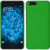 Hardcase Mi 6 rubberized green Case