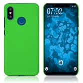 Hardcase Mi 8 rubberized green Cover