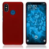 Hardcase Mi 8 rubberized red Cover