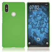 Hardcase Mi 8 SE rubberized green Cover