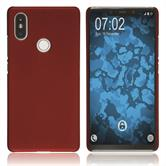 Hardcase Mi 8 SE rubberized red Case