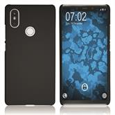 Hardcase Mi 8 SE rubberized black Cover