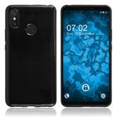 Silicone Case Mi Max 3  black Cover
