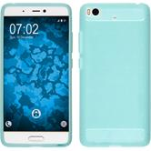 Silicone Case Mi 5s Ultimate turquoise + protective foils
