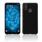 Silicone Case Mi 8  black Case