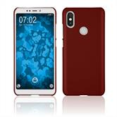 Hardcase Mi A2 (Mi 6X) rubberized red Case