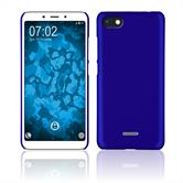 Hardcase Redmi 6/6A rubberized blue Cover