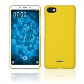 Hardcase Redmi 6/6A rubberized yellow Case