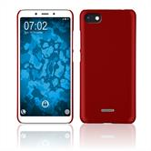 Hardcase Redmi 6/6A rubberized red Cover