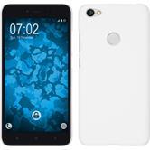 Hardcase Redmi Note 5A gummiert weiß Case