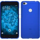 Silikon Hülle Redmi Note 5A matt blau Case