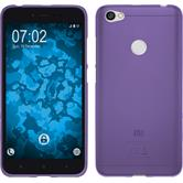 Silikon Hülle Redmi Note 5A matt lila Case