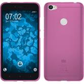 Silicone Case Redmi Note 5A matt hot pink Case