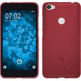 Silicone Case Redmi Note 5A matt red Case