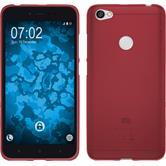 Silikon Hülle Redmi Note 5A matt rot Case