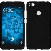 Silikon Hülle Redmi Note 5A matt schwarz Case