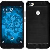 Silikon Hülle Redmi Note 5A Ultimate schwarz Case