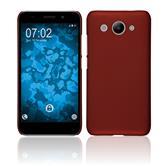 Hardcase Y3 (2018) rubberized red Case