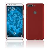 Hardcase Y7 Prime (2018) rubberized red Case
