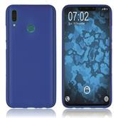 Silicone Case Y9 (2019) matt blue Cover