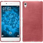 Silicone Case for Sony Xperia Z3+ brushed pink