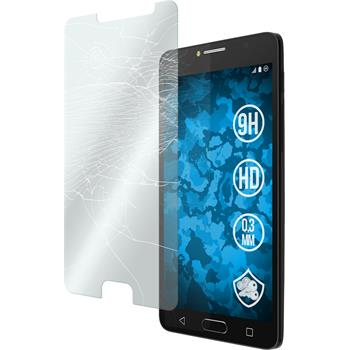 1 x Alcatel POP 4s Protection Film Tempered Glass clear