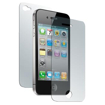 1 x Apple iPhone 4S Displayschutzfolie klar Fullbody