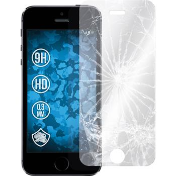 1 x Apple iPhone 5 / 5s Protection Film Tempered Glass