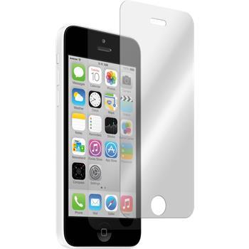 1x iPhone 5c klar Glasfolie