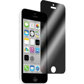 1x iPhone 5c Privacy Glasfolie
