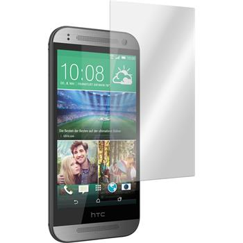 2 x HTC One Mini 2 Protection Film Tempered Glass Clear