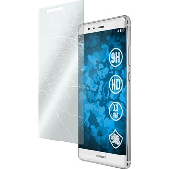 1 x Huawei P9 Plus Protection Film Tempered Glass clear