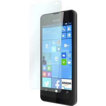 1 x Microsoft Lumia 550 Protection Film Tempered Glass clear