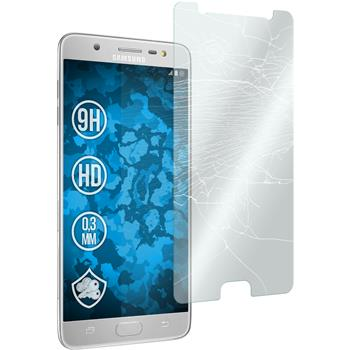 1 x Galaxy J7 Max Protection Film Tempered Glass clear