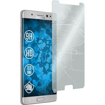 1x Galaxy Note 7 klar Glasfolie