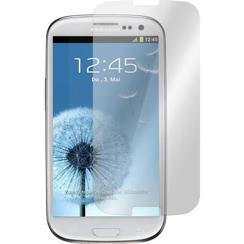 1x Galaxy S3 klar Glasfolie