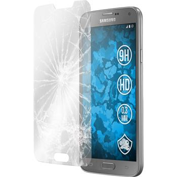 1 x Samsung Galaxy S5 Neo Protection Film Tempered Glass Clear