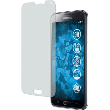 1 x Samsung Galaxy S5 Protection Film Tempered Glass Anti-Glare