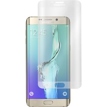 1 x Samsung Galaxy S6 Edge Plus Protection Film Tempered Glass clear transparent