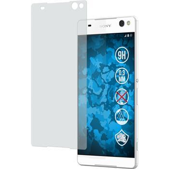 1 x Sony Xperia C5 Ultra Glas-Displayschutzfolie matt