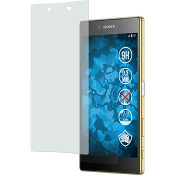 1 x Sony Xperia Z5 Premium Glas-Displayschutzfolie matt