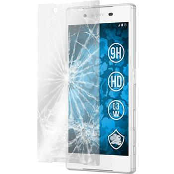 1 x Sony Xperia Z5 Protection Film Tempered Glass clear