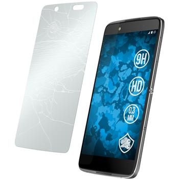2 x Alcatel Idol 4 Protection Film Tempered Glass clear