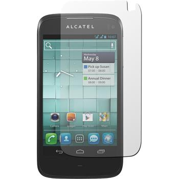 2 x Alcatel One Touch Ultra 997 Displayschutzfolie klar