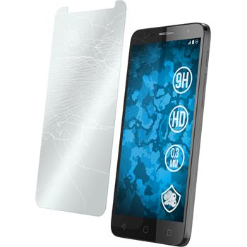 2 x Alcatel POP 4+ Protection Film Tempered Glass clear