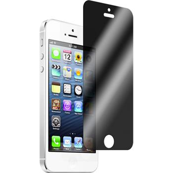2x iPhone 5 / 5s / SE Privacy Glasfolie
