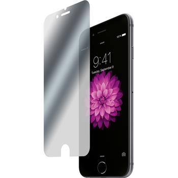 2 x iPhone 6s / 6 Schutzfolie verspiegelt