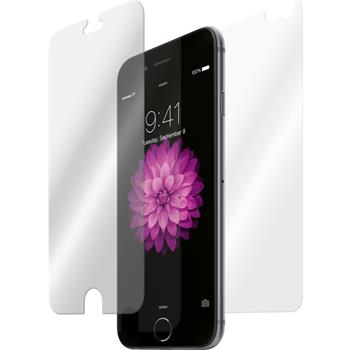 2x iPhone 6 Plus / 6s Plus klar Fullbody Glasfolie