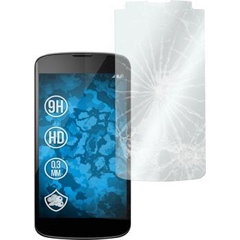 2x Nexus 4 klar Glasfolie