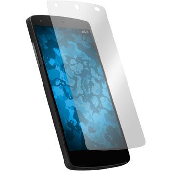2 x Nexus 5 Schutzfolie klar